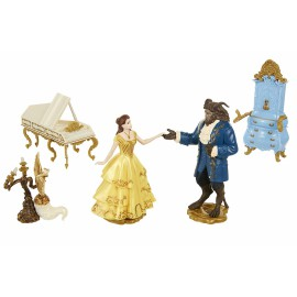 Set de figurines La Belle et La Bête - Disney
