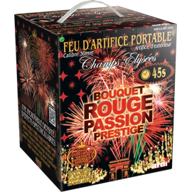 Feu d'artifice - Portable Bouquet Rouge Prestige