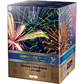 Compact Signature JLG Le 47 - Feu d'artifice