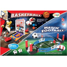 Jeu de Football ou Basketball - Jeu d'adresse