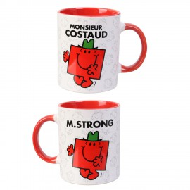 Mug Monsieur Madame - Mr Costaud