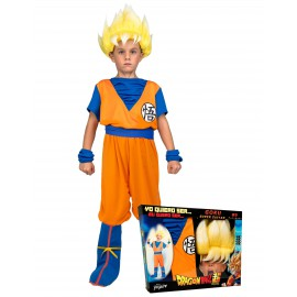 Déguisement Super Saiyan Goku Dragon Ball™ enfant