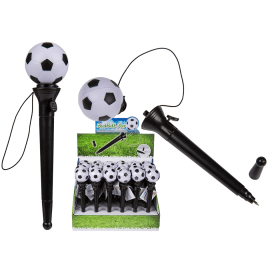 Stylo à bille football lance ballon gadget