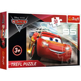 Puzzle Cars Flash Mc Queen - 30 pièces