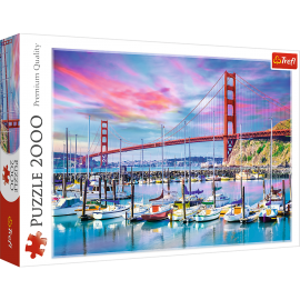 Puzzle Golden Gate San Francisco - 2000 pièces