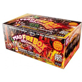 Portable Mad Fire Box 1min30 - Feu d'artifice automatique
