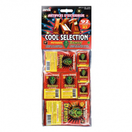 Assortiment Pétards Démon Cool Séléction (92 pétards)
