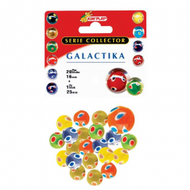 "Filet de 20 billes + 1 calot luxe ""Galactika"""