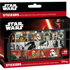 Boite de 65 stickers Star Wars