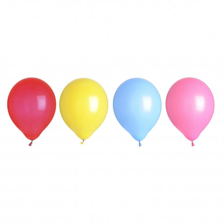 4 Ballons LED multicolores