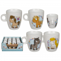 Mug en porcelaine Poney