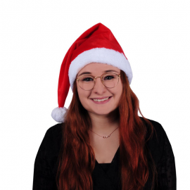 Bonnet long de Noël adulte
