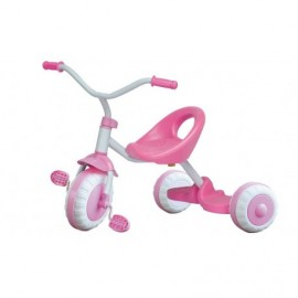 Tricycle classique rose