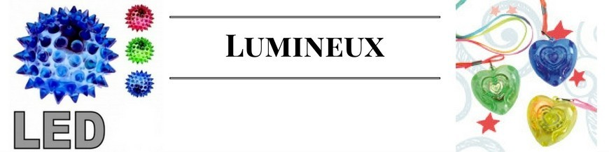 Articles lumineux